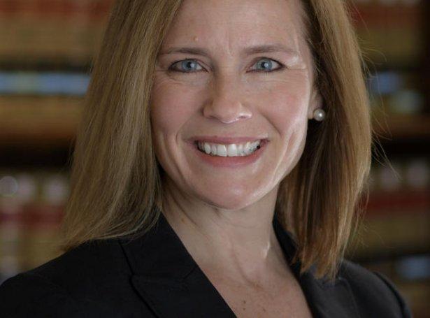 Amy Coney Barrett (Mynd: EPA)