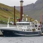 Høgaberg landar svartkjaft í Fuglafirði