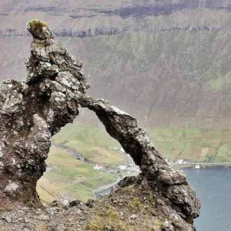 Myndir: Í fjøllum á Borðoynni