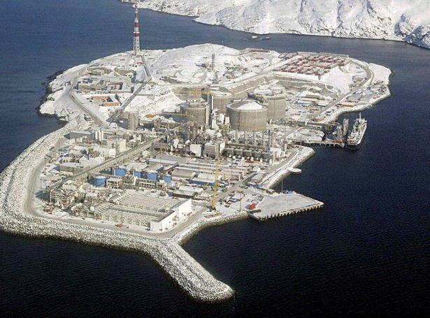 Melkøya (Savnsmynd: EPA)