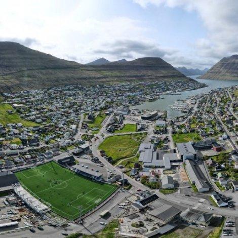 Spæliland fyri 14 milliónir krónur í Klaksvík
