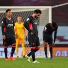 Salah skoraði tvær ferðir, men tað pyntaði bara eitt sindur uppá samanlagda úrslitið hjá Liverpool