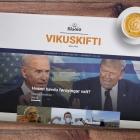 Blaðið Vikuskifti: Les fyrstu útgávuna her