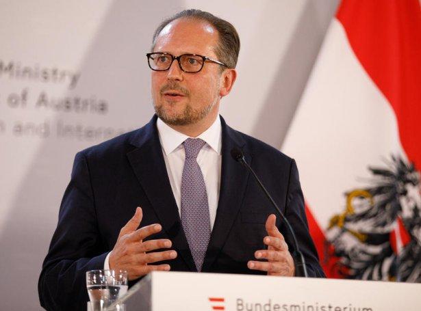 Alexander Schallenberg (Mynd: EPA)