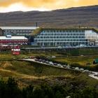 Hilton hotellið letur upp í dag