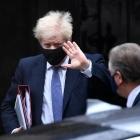 Boris Johnson fegnast um rakettstøð í Hetlandi
