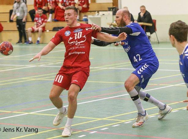KÍF vann 32-28, tá Neistin vitjaði 25. oktober (Mynd: Jens Kr. Vang)