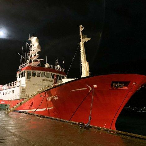 Vesturhavið fer nú til fiskiskap undir Íslandi