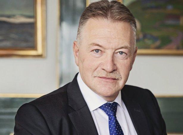 Jacob Vestergaard, landsstýrismaður í fiskivinnumálum (Savnsmynd)