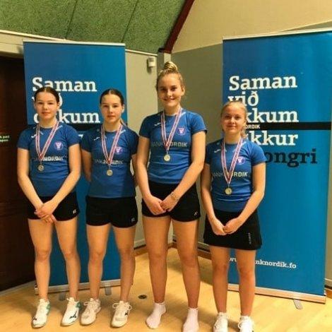 Mynd: Badmintonsamband Føroya/Facebook