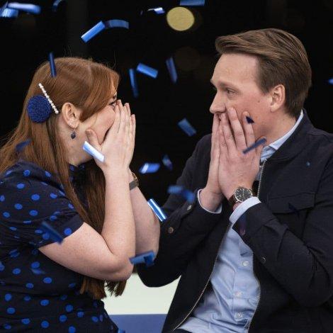 Vunnu hús í Nybyggerne í fjør: Nú eiga Sunnvá og Martin endiliga húsini