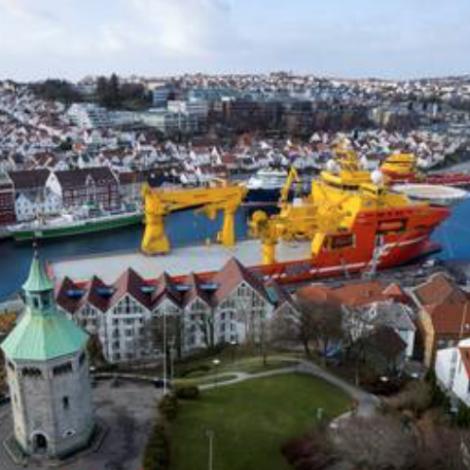 Oljukreppan rakar Stavanger meint