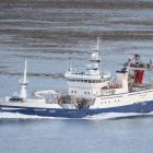 Arctic Voyager hevur landað makrel í Fuglafirði