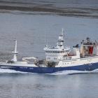 Arctic Voyager landað til Pelagos