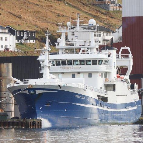 Tróndur í Gøtu landar svartkjaft á Tvøroyri