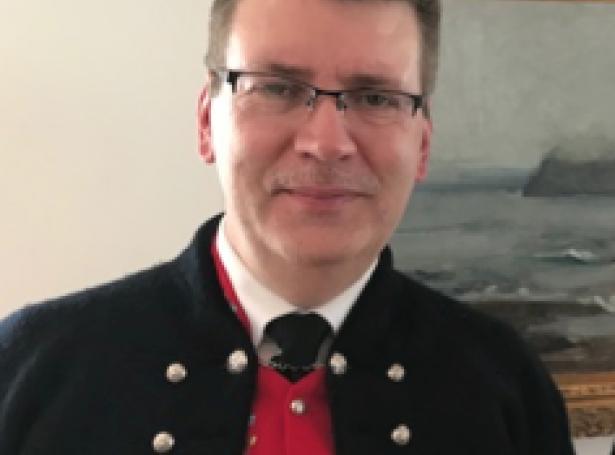 Helgi Abrahamsen, landsstýrismaður: -Dyrnar standa opnar fyri oljufeløgunum, sum vilja leita eftir olju og gassi í Føroyum. Mynd Jan Müller