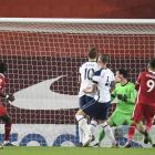 Liverpool vann 2-1 á Tottenham í oddadystinum (Mynd: EPA)