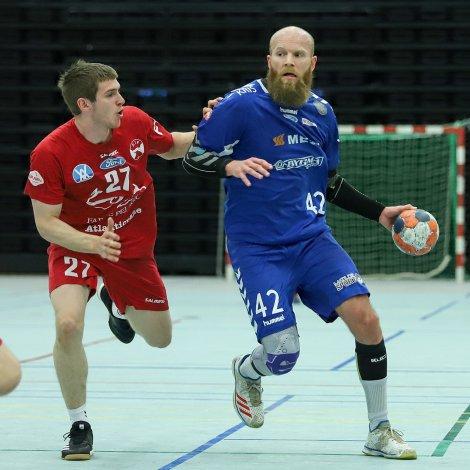Rasmus Søby royndist aftur væl fyri Neistan, men tað koppaði til Hans Eli Sigurbjørnsson og KÍF (Mynd: Sverri Egholm)