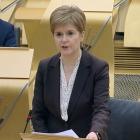 Skotland steingir aftur orsaka av korona