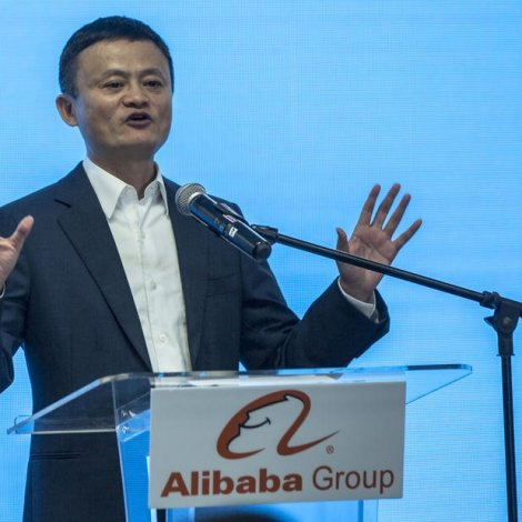 Alibaba-stovnarin Jack Ma vísir seg ikki