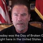 Schwarzenegger leggur eftir Donald Trump