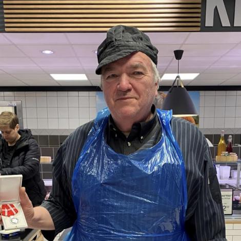 Jørgen gevst sum sláturmeistari í Miklagarði