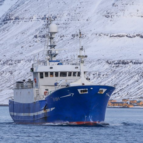 Myndir: Nýggi Pison komin á Klaksvík