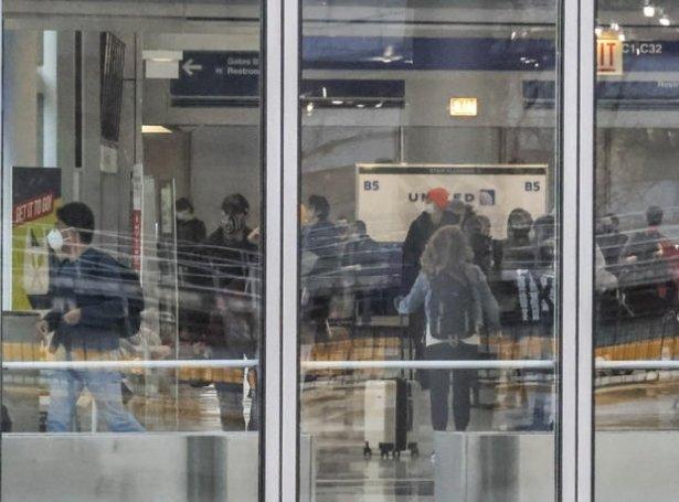 Chicago O'Hare International Airport, har maðurin búði í tríggjar mánaðir (Mynd: EPA)