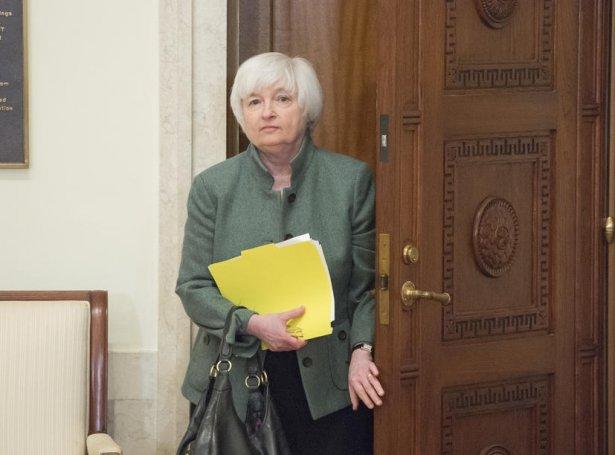 Janet Yellen (Mynd: EPA)