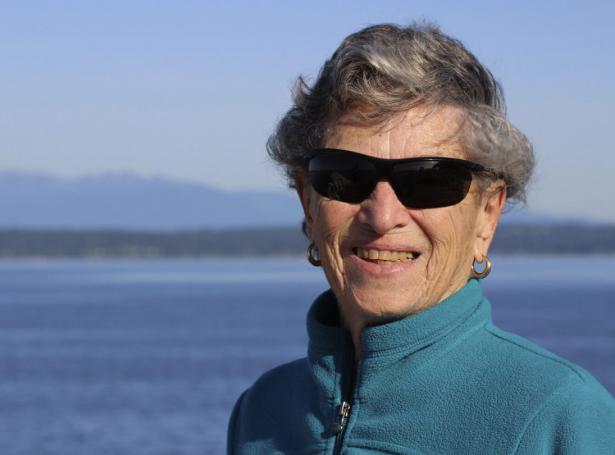 Fran Goldman (Mynd: Seattle Times)