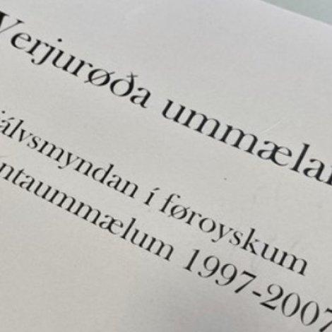 Ph.d.-verja: Verjurøða ummælarans
