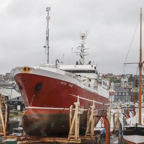 Hoyvík til klassingar hjá Mest í Havn
