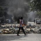 Myanmar: 114 fólk dripin í gjár