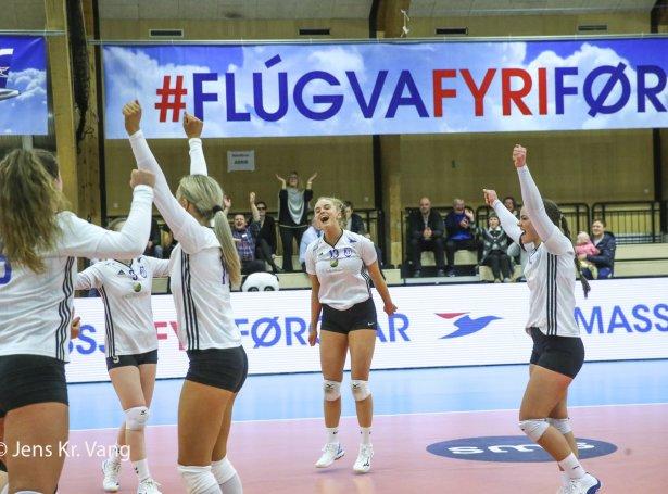 Sørvágskvinnur vunnu 3-0 (Mynd: Jens Kr. Vang)
