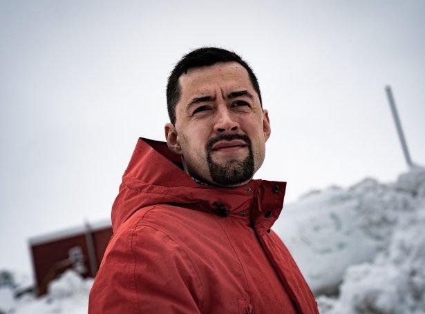 Múte B. Egede, formaður í IA, fekk 3.380 persónligar atkvøðar - nógv flestar. Eitt gott boð upp á komandi stjórnarleiðaran í Grønlandi (Mynd: EPA)