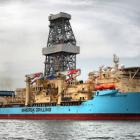Danska Maersk Drilling stórsáttmála í Afrika