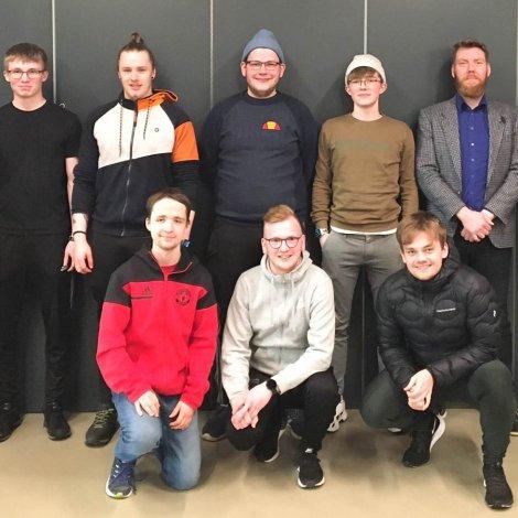 """Luttakarar á skeiðnum """"FSF Dómarin"""" í februar (Mynd: fsf.fo)"""