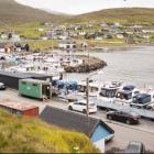 Fiskikapping  og fiskauppboðssøla í Hósvík