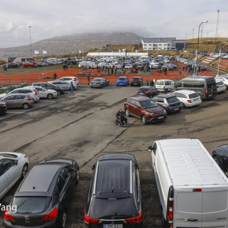 Myndir: Stórur bilafestivalur á Svangaskarði