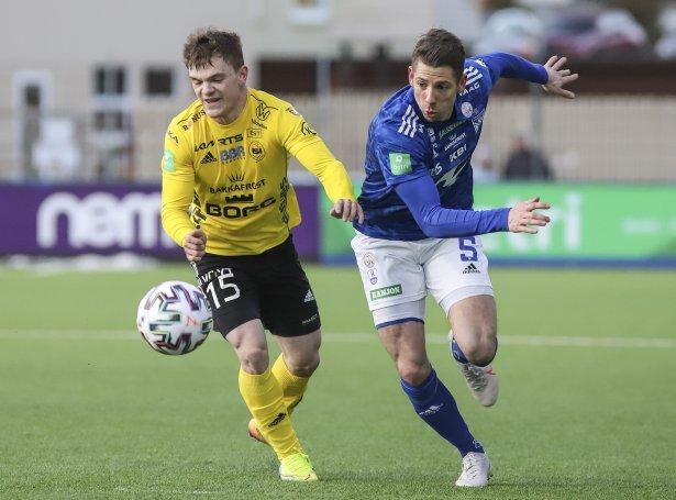 NSÍ og KÍ eru fyrstu føroysku luttakararnir í UEFA Conference League (Mynd: Sverri Egholm)