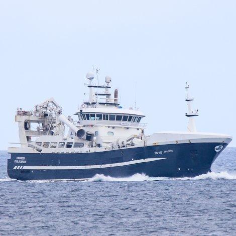Skipini hava góðan svartkjaftafiskiskap