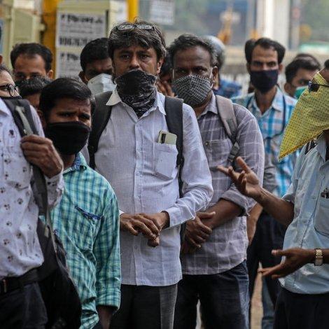 India: Fleiri enn 400.000 nýggir tilburðir í eitt samdøgur