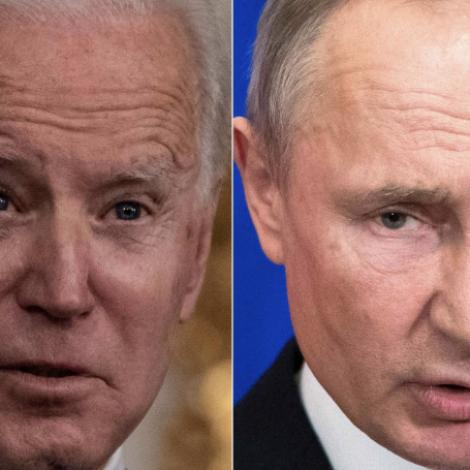 Biden ætlar at hitta Putin í juni