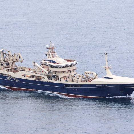 Gøtunes landað størstu nøgdina av makreli til Varðan Pelagic