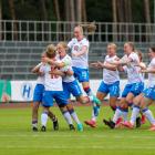 Føroysku kvinnurnar skulu royna at vinan Baltic Cup (Mynd: FSF/Bjarni Enghamar)