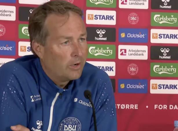 Danski landsliðsvenjarin, Kasper Hjulmand