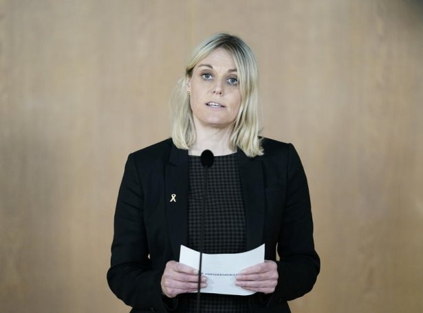 Trine Bramsen (Mynd: EPA)