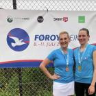 Frá høgru: Katrin á Neystabø og Mari-Ann Robertson