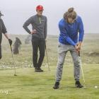 Í farnu viku var golfkapping á Glyvursnesi í sambandi við Føroyaleikirnar (Mynd: Jens Kr. Vang)