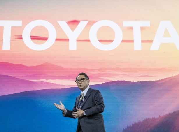 Akio Toyoda, forseti í Toyota (Mynd: EPA)